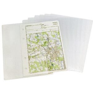 Transparent pockets A5